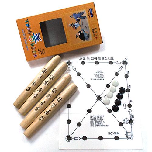 [국내산] 전통민속 윷 놀이셋트