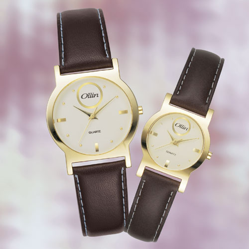 가죽밴드 손목시계1107G(M),1107G(L)