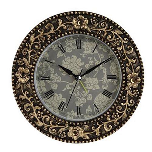 폴리아트 원형 탁상알람시계 (725)