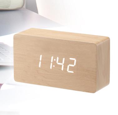 2099 LED나무시계(중)