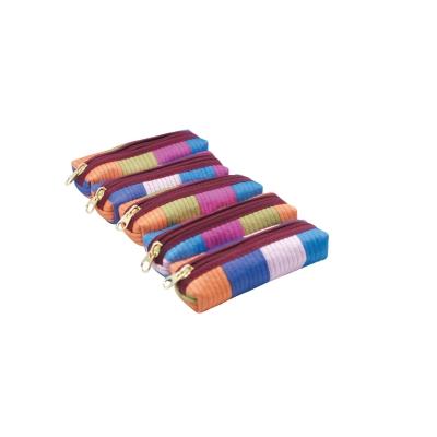 누비도장지갑(색동)
