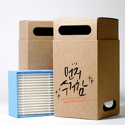먼지수거함 미니공기청정기 H13급 HEPA Filter
