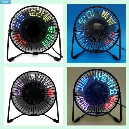 LED 탁상용 메시지 미니선풍기