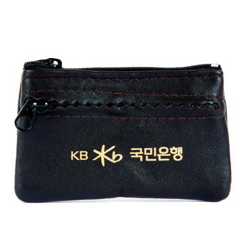 톱니 동전지갑 (소)