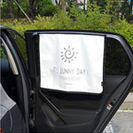 차량용 햇빛가리개 -  자석