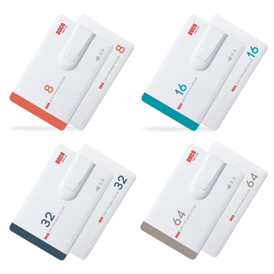 DUCO 스마트 카드형 OTG USB메모리(8G~64G)