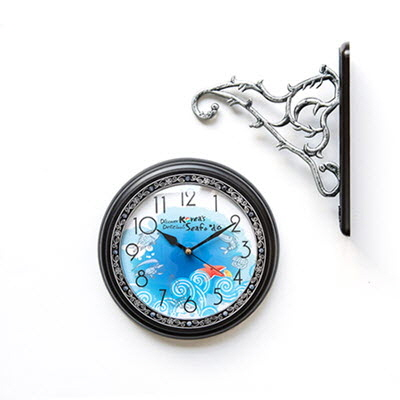포토 양면시계