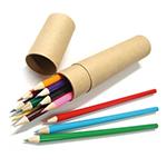 12본 색연필