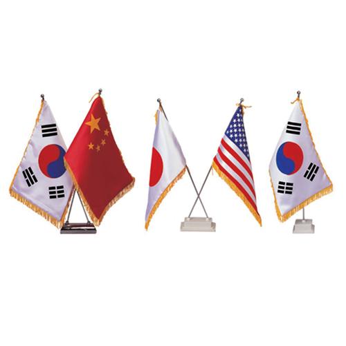 일반 탁상기(국기,받침대)
