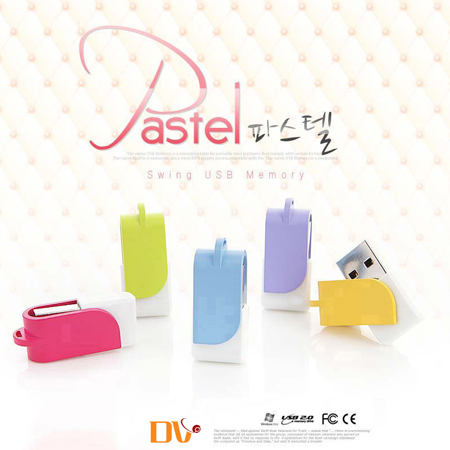 DV 파스텔 USB메모리(4GB~64GB)