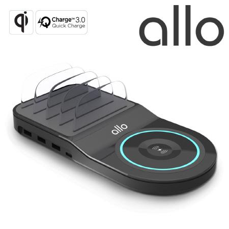 [알로] 무선 고속 멀티충전기 allo UC450WQC