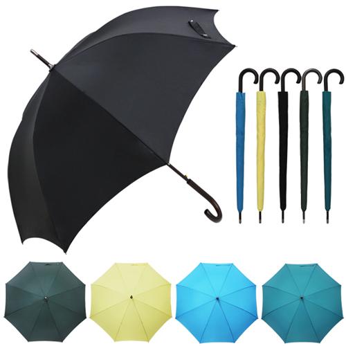 [20개]국내소량제작 65자동 무지 곡자 장우산