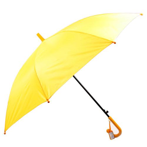 어린이 노랑 무지우산