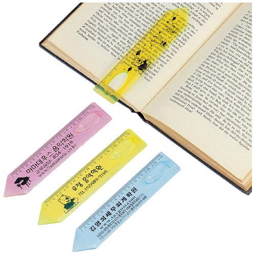 12cm 연필 책갈피자(칼라)