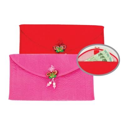 누비 통장지갑