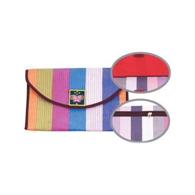 통장지갑(색동)