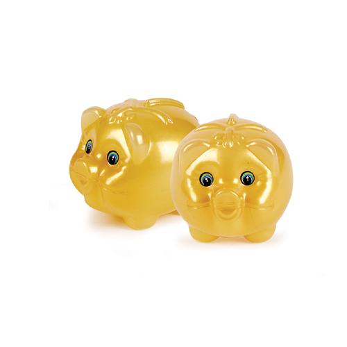 금색 돼지저금통 소(95×75×75mm)