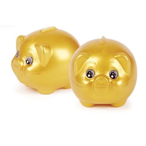 금색돼지 저금통 대(150×130×130mm)