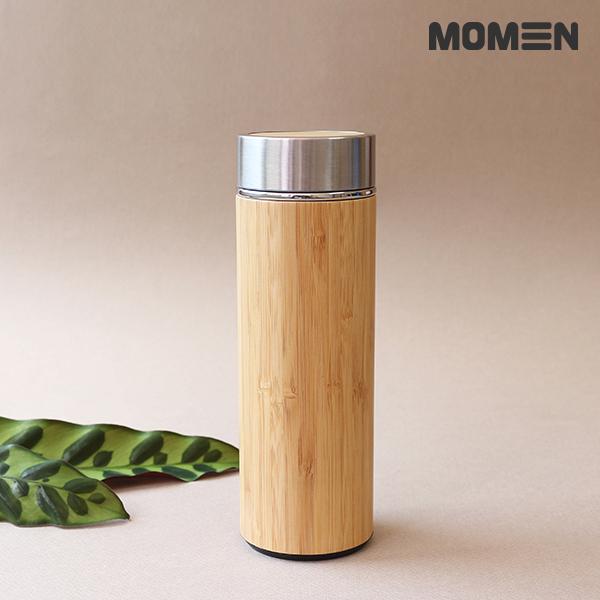 [모멘] 대나무텀블러 350ml 보온보냉