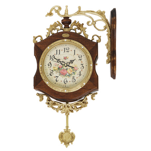 장미(추)양면벽시계 Y511