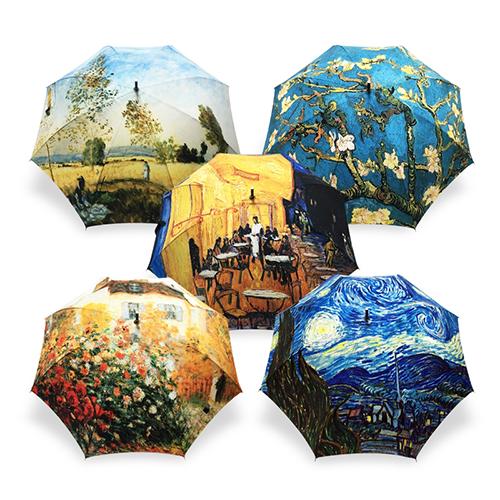 명화를 품은 우산