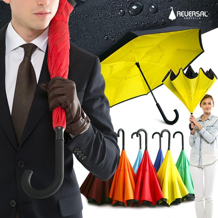특허] 리버설 거꾸로 우산  basic 장우산_컬러11종 / 인기상품/수동